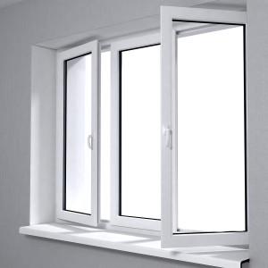 Home windows open to allow sunlight