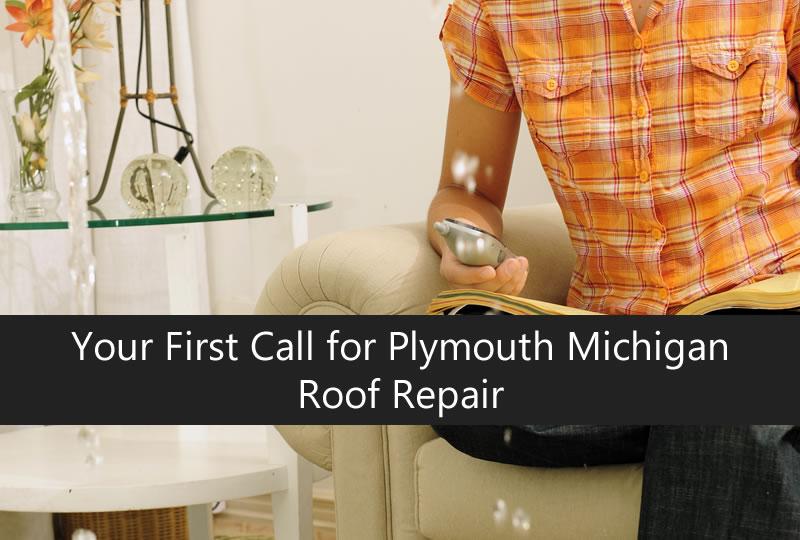 Call for roof repair