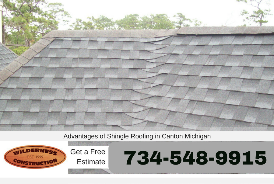Advantages of Shingle Roofing in Canton Michigan