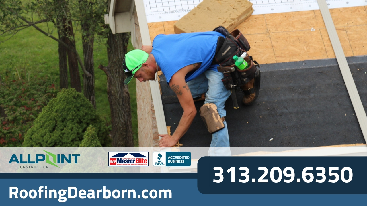 Why is Your Roofing in Dearborn Michigan Fading