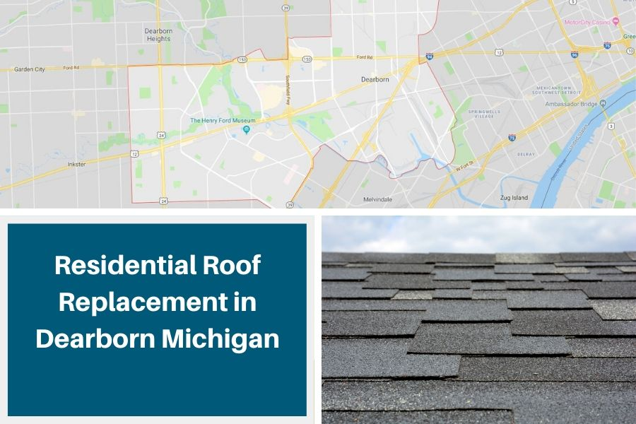 Residential Roof Replacement in Dearborn Michigan
