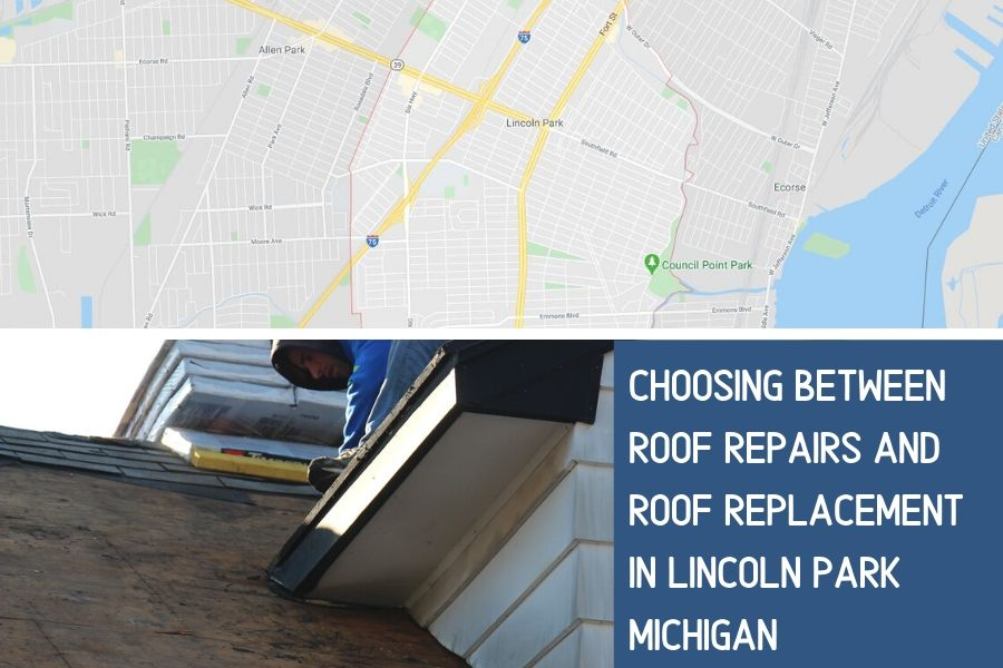 Roofing in Lincoln Park MI