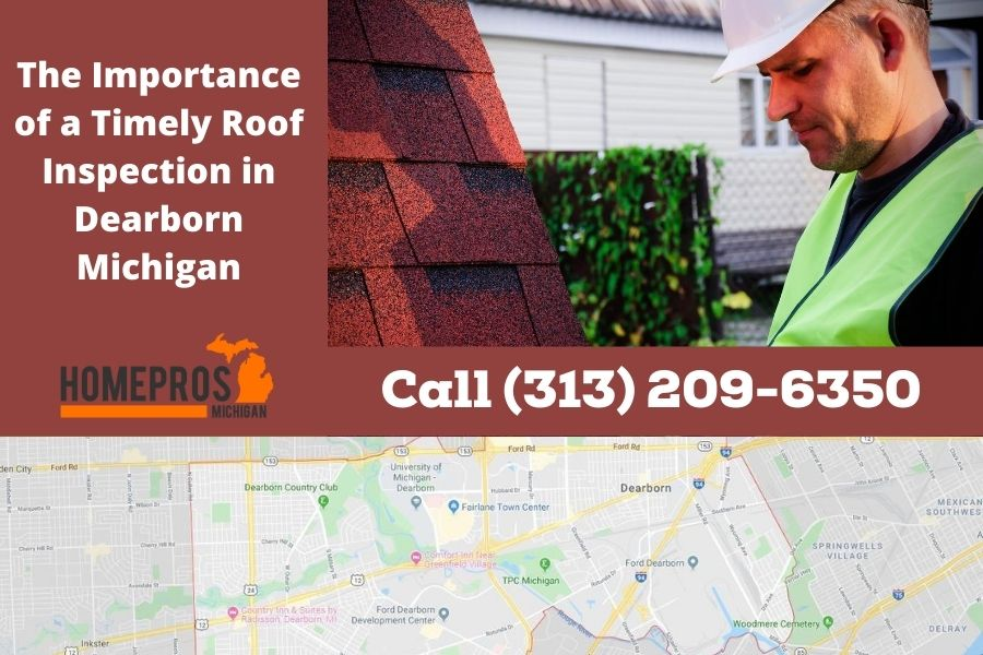 Roof Inspection in Dearborn MI