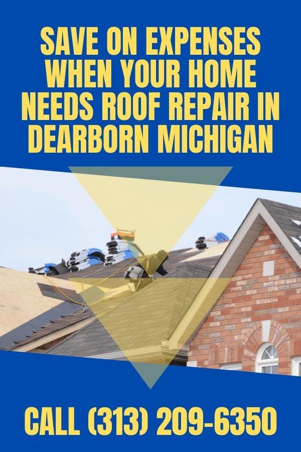 Dearborn Michigan Roof Repair